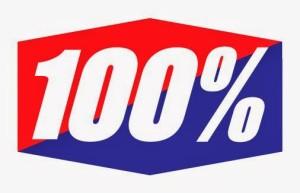 100 percento